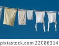 Clothes Hanging Outside 22086314