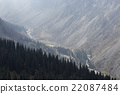 The panorama of mountain landscape of Ala-Archa 22087484