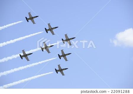 At air show 22091288