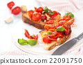 Italian food. Bruschetta. 22091750