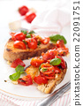 Italian food. Bruschetta. 22091751