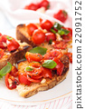 Italian food. Bruschetta. 22091752