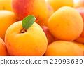 Fresh apricots background. 22093639
