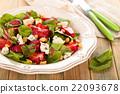 Spinach salad. 22093678