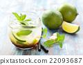 Mojito cocktail. 22093687