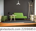 室內裝飾 廳的 起居室 22096853