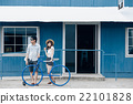 肖像 腳踏車 自行車 22101828