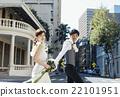 新郎 走路 步行 22101951