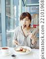 女人吃煎餅 22101968