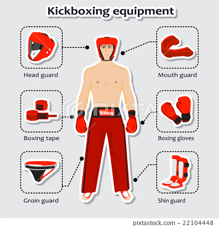 Sport equipment for kickboxing martial arts with 22104448