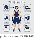 Sport equipment for boxing martial arts with 22104449