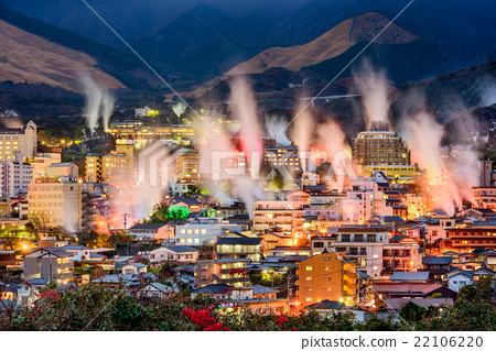 Beppu, Japan Skyline 22106220