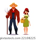 man, woman, farmer 22108225