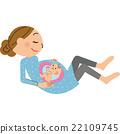 懷孕 孕婦 嬰兒 22109745