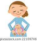 懷孕 孕婦 嬰兒 22109746