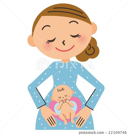 孕妇和婴儿 22109746