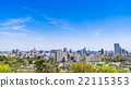 Sendai city view from the castle ruins of Sendai 22115353