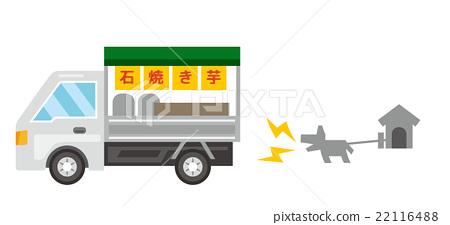 烤紅薯 輕型卡車 毛孩 22116488