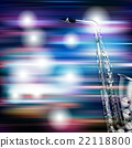 abstract grunge piano background with saxophone 22118800