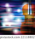 violin music abstract 22118802