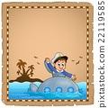 羊皮纸 潜水艇 水手 22119585