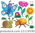 Spring animals and insect theme set 2 22119590