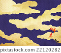 cloud, clouds, japanese pattern 22120282