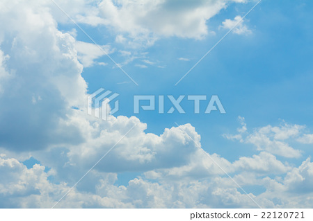 Stock Photo: Blue Sky And Clouds