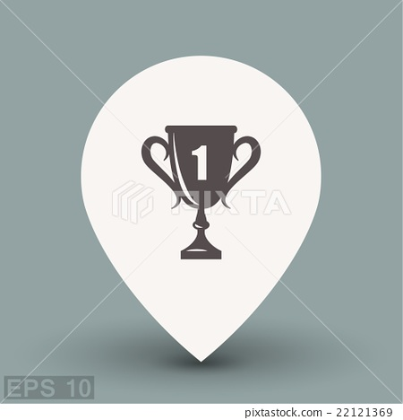 Pictograph of champions cup 22121369