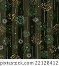 Repeat design / Pattern / Fireworks / Vector 22128412