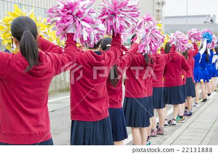 시민 마라톤 대회 응원단 22131888