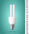 Energy saving light bulb. 22136369