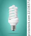 Energy saving light bulb. 22136371