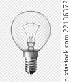 Light bulb for bedside lamp 22136372