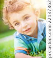 Cute baby portrait 22137862