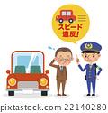警察 超速 交通違章 22140280