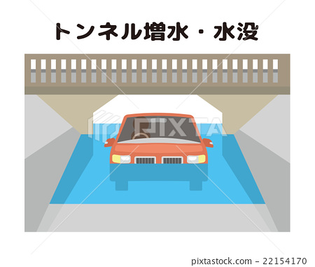 淹沒 洪水 車 22154170