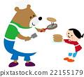 熊 烙饼 煎饼 22155179