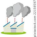 烟雾污染 植物 工厂 22156597