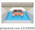 침수 침수 차량 【재해 시리즈] 22156900