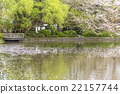 pond at Kamakura 22157744