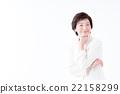 미들 여성 22158299