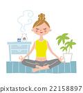 瑜伽 瑜珈 冥想 22158897