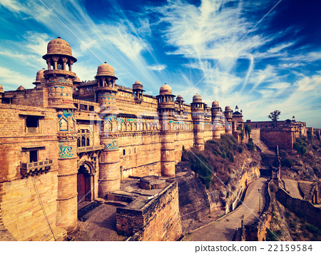 Gwalior fort, India 22159584