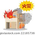 ไฟ,บ้าน,ภัยพิบัติ 22165736