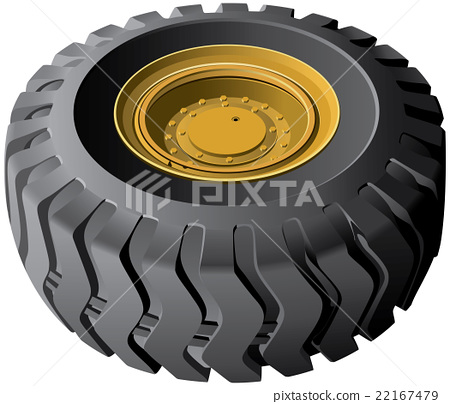 Engineering vehicles wheel 22167479
