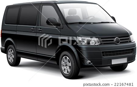 German passenger van 22167481