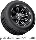 轮子 车轮 胎 22167484