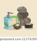 Spa center design , vector illustration 22174269