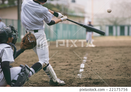 High school baseball game landscape 22175756